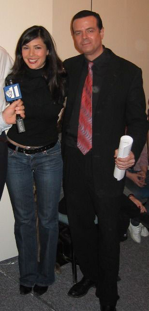 John Petrocelli hypnotist and wb11 reporter